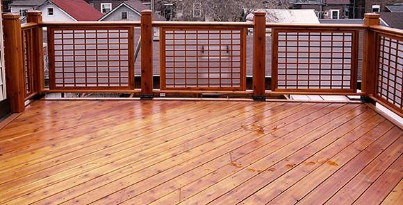 Deck Railing Designs With Lattice 40 Creative Deck Railing